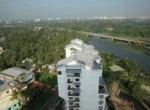 Waterfront fully furnished,4 Bhk,waterfront luxury apartment for sale at Thevera